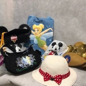 Disney 9 pieces Minnie Mouse Tinker Bell Mickey
